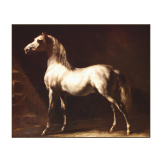 horse  painting 19 gallery wrapped canvas