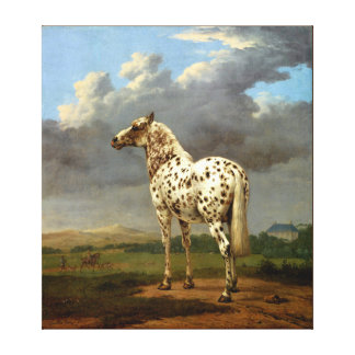 horse  painting 9 stretched canvas prints