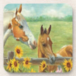 Horse Painting Coasters