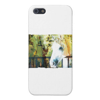Horse Painting Cover For iPhone SE/5/5s