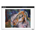 "Horse Painting Decal For 17"" Laptop"