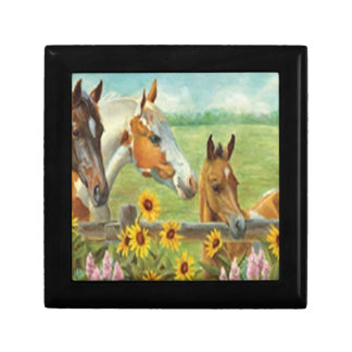 Horse Painting Gift Box