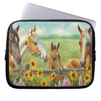 Horse Painting Laptop Sleeve