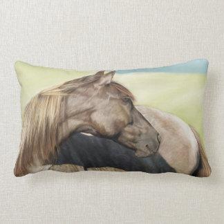 Horse Painting Lumbar Pillow