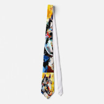 Horse Painting Neck Tie