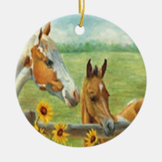 Horse Painting Ornament