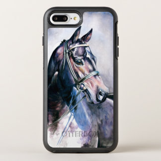 Horse Painting OtterBox Symmetry iPhone 7 Plus Case