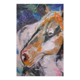 Horse Painting Personalized Stationery