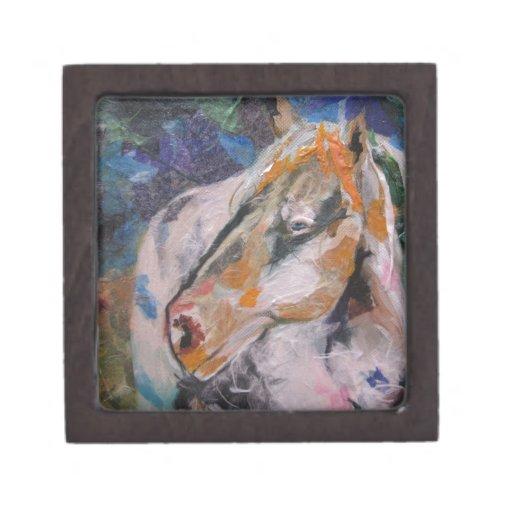 Horse Painting Premium Keepsake Box