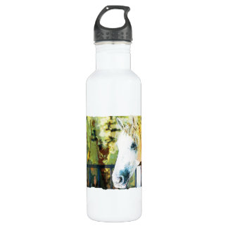 Horse Painting Stainless Steel Water Bottle