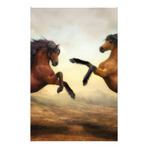Horse painting stationery