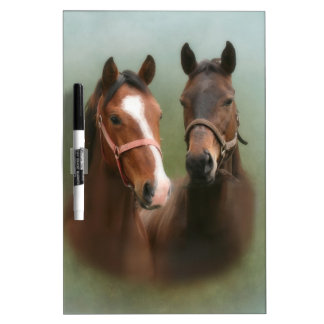Horse Pair Dry Erase Board