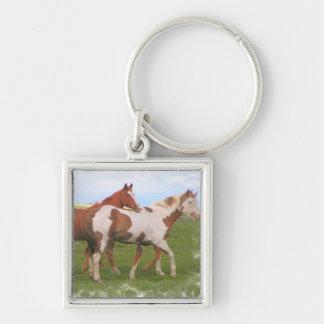 Horse Pair Keychain