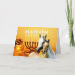 "Horse Pals Chanukah Card<br><div class=""desc"">Remembering family and friends during the Chanukah season is a wonderful way to keep in touch with the people you love and care about. I created these horse Chanukah cards with love and care and I am sure anyone who loves horses will be delighted to receive them. You do have...</div>"