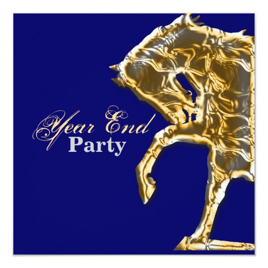 Horse party show event racing card
