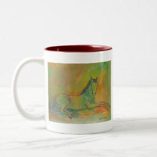 Horse Pastel Portrait Mug