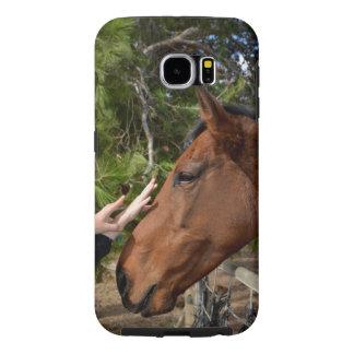Horse_Pat, _Tough_Samsung_Galaxy_S6_Case. Fundas Samsung Galaxy S6