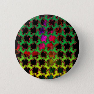 Horse Pattern Button