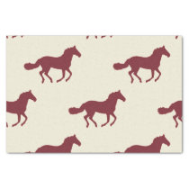 Horse Pattern Tissue Paper