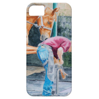 Horse Pedicure iPhone SE/5/5s Case