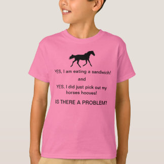 Horse People Humor T-Shirt