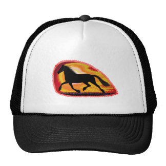 Horse Pet Animal  Add TXT IMG background color Trucker Hat