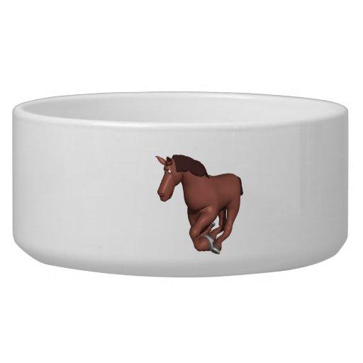 Horse Pet Food Bowls