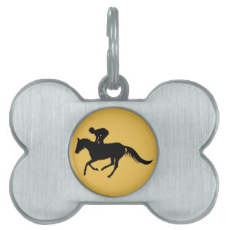 horse pet ID tags