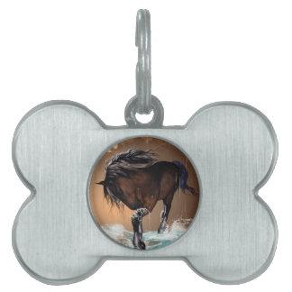 Horse Pet Name Tags