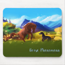 Horse Phenomena Mouse Pad