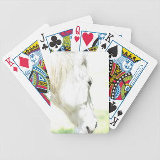 Horse Photo Bicycle Poker Cards