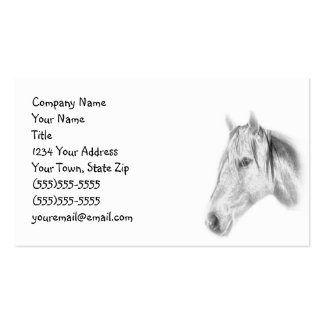 Horse Photo Business Card