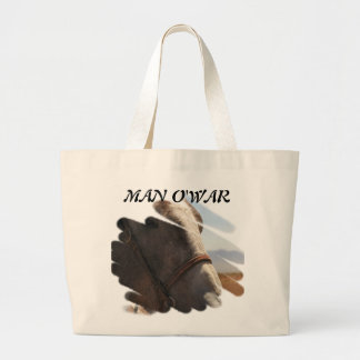 Horse Photo Closeup Large Tote Bag