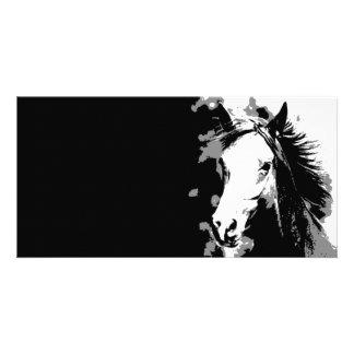 Horse Photo Card
