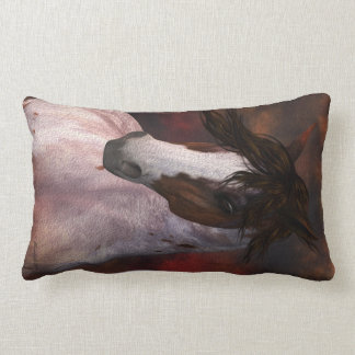 Horse Pillow, Scatter Cushion Gift, Equine