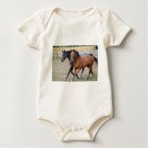 Horse Play Baby Bodysuit
