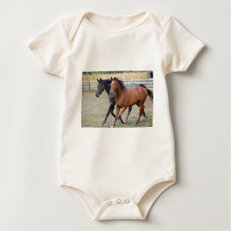 Horse Play Baby Bodysuit