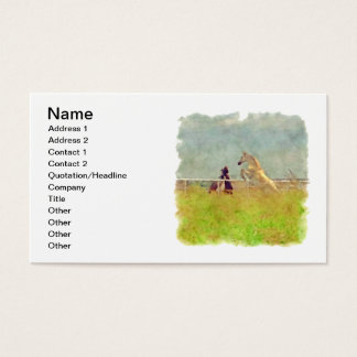 HORSE PLAY BUSINESS CARD