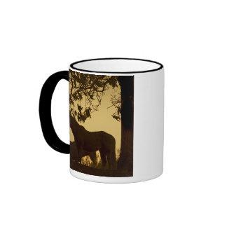 Horse Play Coffee Mugs