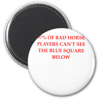HORSE.png 2 Inch Round Magnet