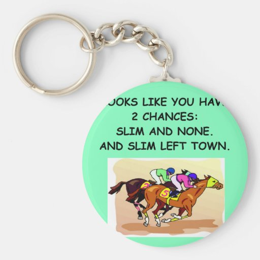 horse.png basic round button keychain