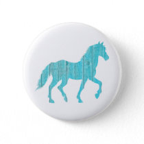 horse pony  animal  stallion,  mustang  silhouette button