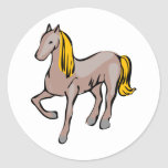 Horse/Pony Round Stickers