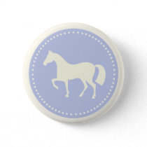 Horse/Pony Silhouette Pinback Button