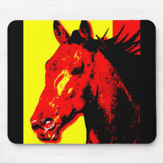 Horse Pop Art Mouse Pad