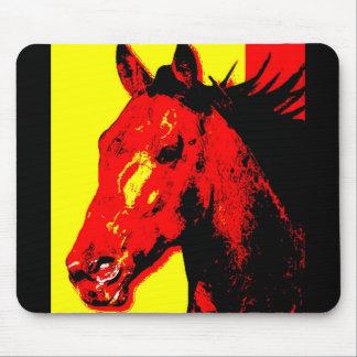 Horse Pop Art Mouse Pad