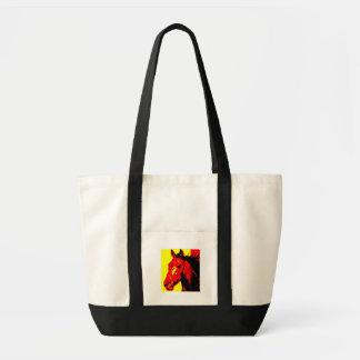 Horse Pop Art Tote Bag