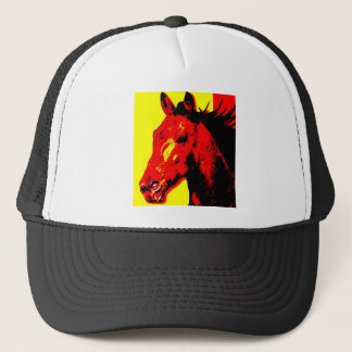 Horse Pop Art Trucker Hat