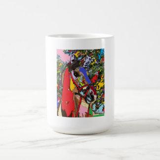 horse Portrait  01 Coffee Mug