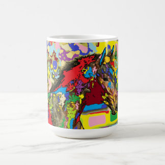horse Portrait 06 Coffee Mug